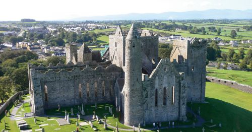 Aerial of Rock of Cashel 1