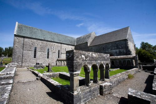 Ballintubber Abbey near Castlebar Co Mayo